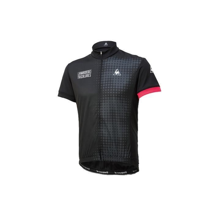 le coq sportif(ルコックスポルティフ) エントリージャージ ブラック サイズM メンズ