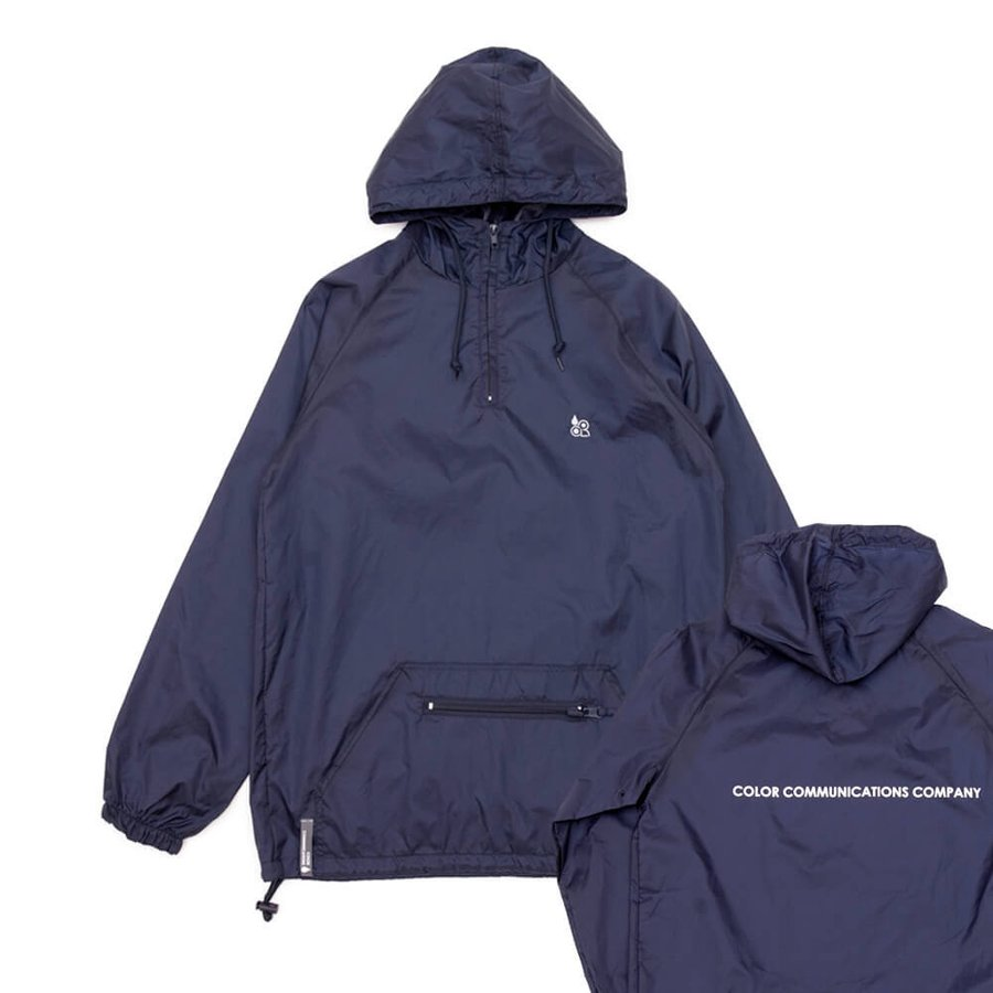 COLOR COMMUNICATIONS JACKET カラーコミュニケーションズ ジャケット CLR EMB PACKABLE ANORAK