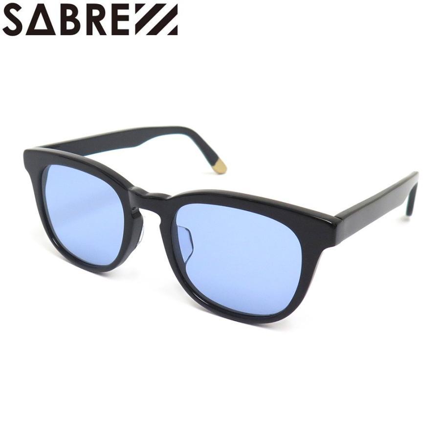 SABRE SUNGLASS セイバー サングラス BELAIR BLACK GLOSS/LIGHT BLUE スケートボード スケボー SKATEBOARD