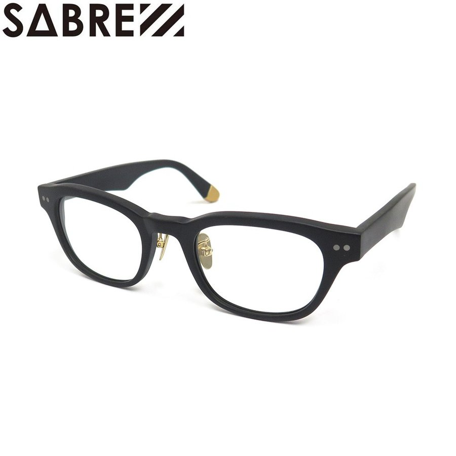SABRE SUNGLASS セイバー サングラス CORVETTE MATTE BLACK/CLEAR スケートボード スケボー SKATEBOARD