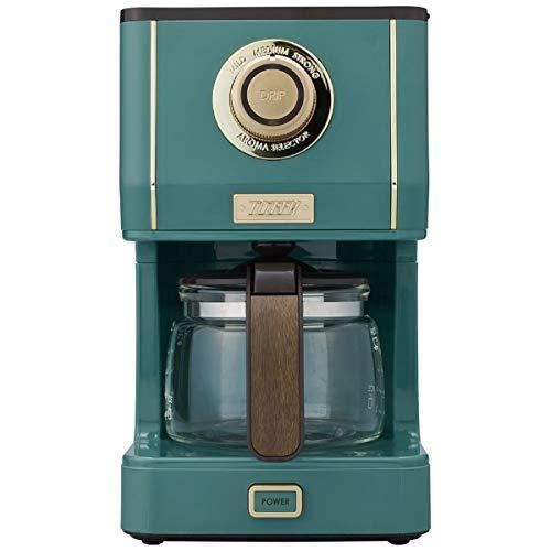 ラドンナ コーヒーメーカー スレートグリーンLADONNA Toffy アロマドリップコーヒーメーカー K-CM5-SG|csh