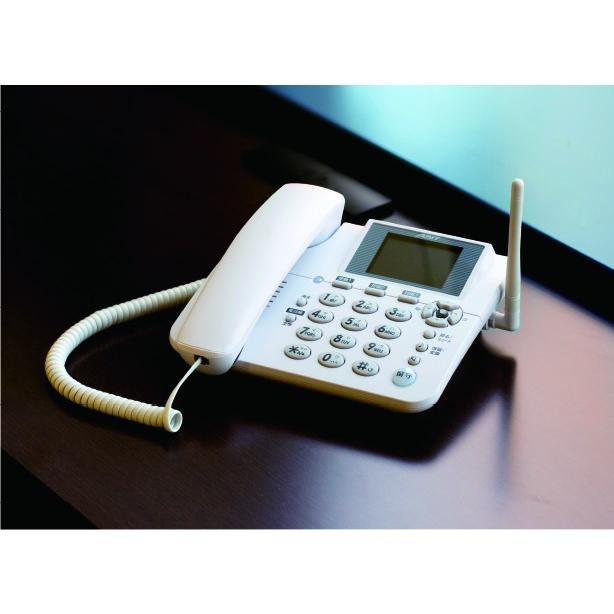 3G SIMフリー電話機「ホムテル3G(AK-010)」【固定電話型】【固定回線不要】【標準SIM】【簡単】【高齢者向け】【新品】【数量限定】【バッテリー1個サービス】|cts-store|04