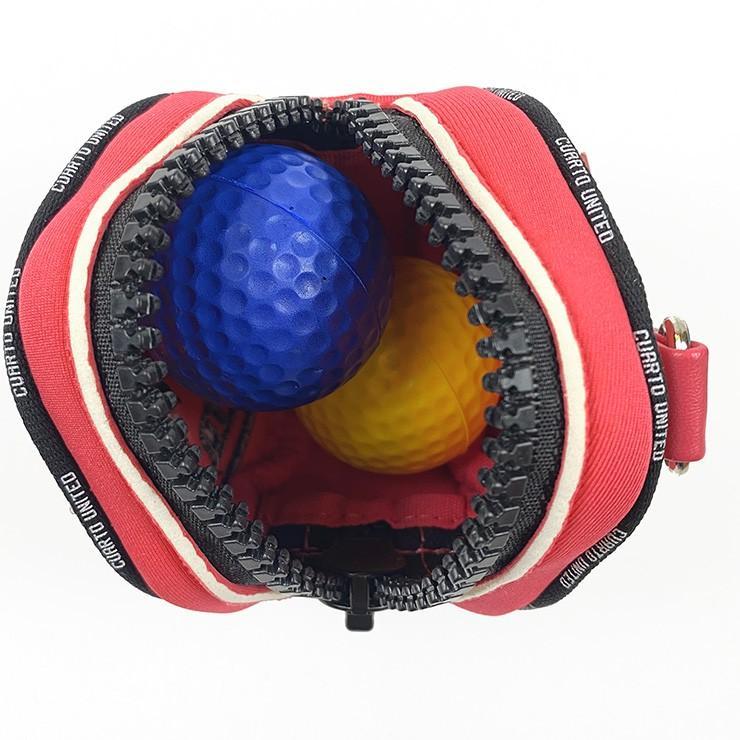 ゴルフ ボール ポーチ 20SS クアルトユナイテッド ネオ プレーン ライン|cuartounited|10