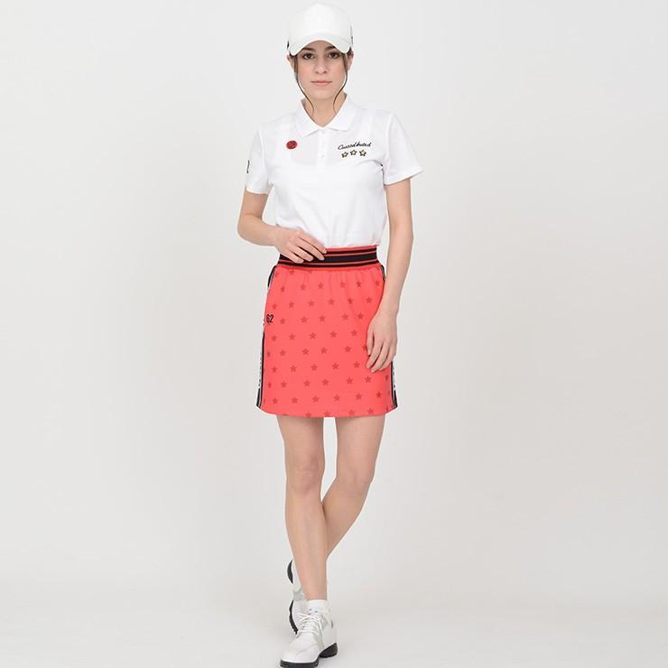 【LINE友だち500円クーポン発行中】 ゴルフ スカート 20SS クアルトユナイテッド 星 柄 サイド ロゴ cuartounited 15