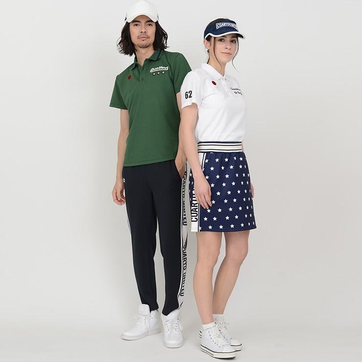 【LINE友だち500円クーポン発行中】 ゴルフ スカート 20SS クアルトユナイテッド 星 柄 サイド ロゴ cuartounited 20