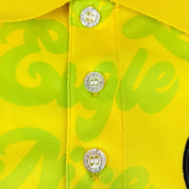 ゴルフ ポロシャツ 20SS クアルトユナイテッド サイケ ロゴ 総柄 メンズ|cuartounited|15