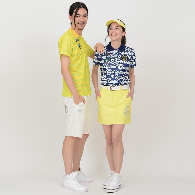 ゴルフ ポロシャツ 20SS クアルトユナイテッド サイケ ロゴ 総柄 メンズ|cuartounited|18