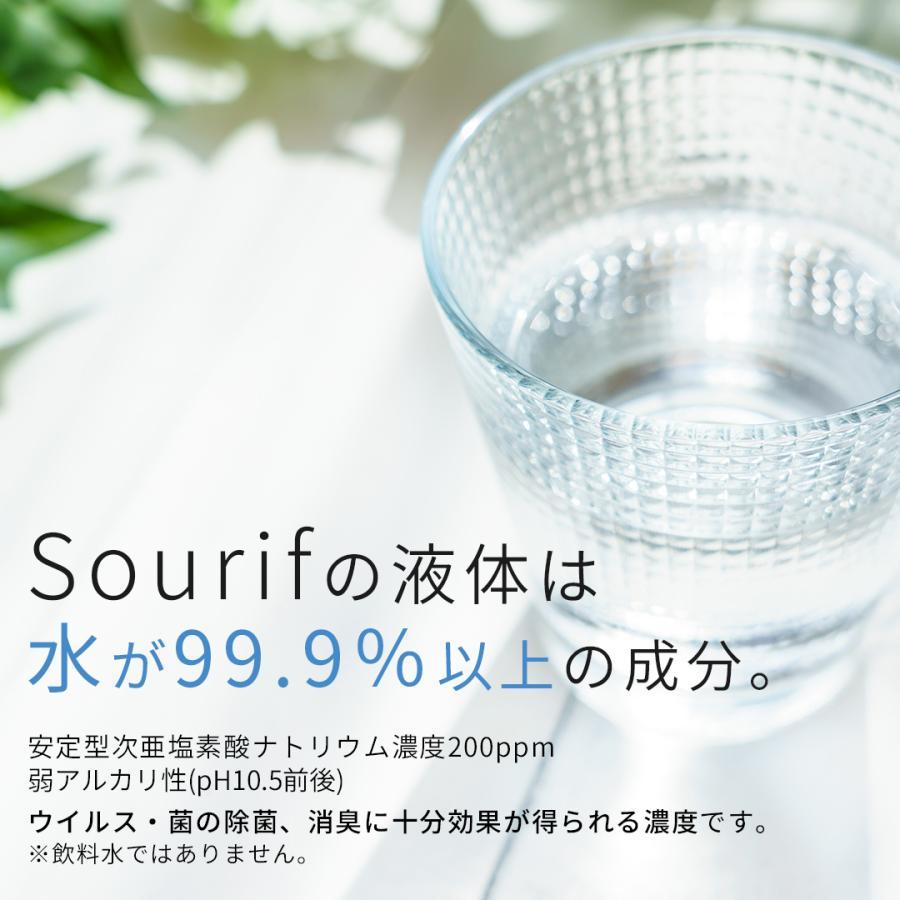 送料無料  sourif スリーフ 除菌スプレー 携帯用 30ml (2本セット) 除菌 消臭スプレー お出かけ 携帯 安定型次亜塩素酸ナトリウム cubic-square 04