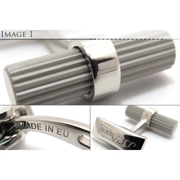(ポイント10倍)S.T.Dupont エス・テー・デュポン バトンデュオポールカフス (カフスボタン カフリンクス) ブランド cufflink 03