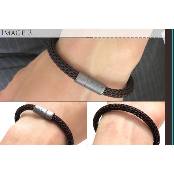 TATEOSSIAN タテオシアン レザーシルバー24アワーズブレスレット(ブラウン) ブランド|cufflink|04