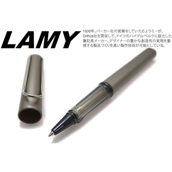 LAMY ラミー ルクス ローラーボール(ルテニウム) ブランド|cufflink