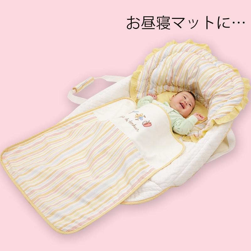 クーファン レンタル3ヶ月:バッグdeクーハン アドレーベベ 赤ちゃん かご 持ち運び|cunabebe|04