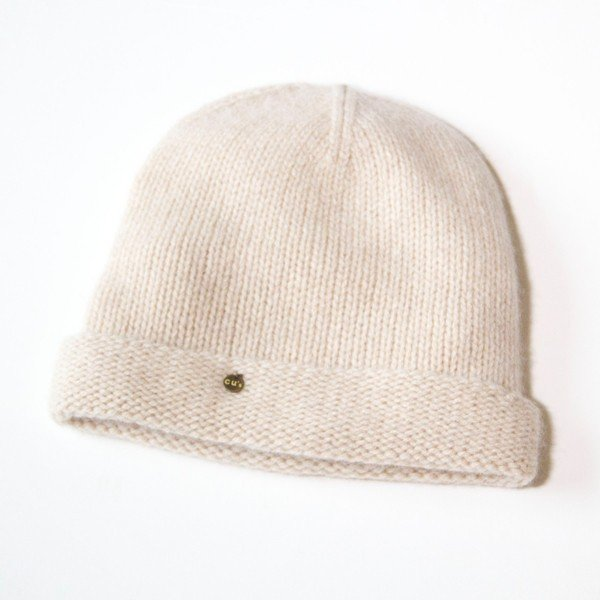 ふんわり極上のカシミヤ100%ニット帽キャップ 男女兼用 カラー:19色 ふわっと軽い薄手タイプ|cus|06