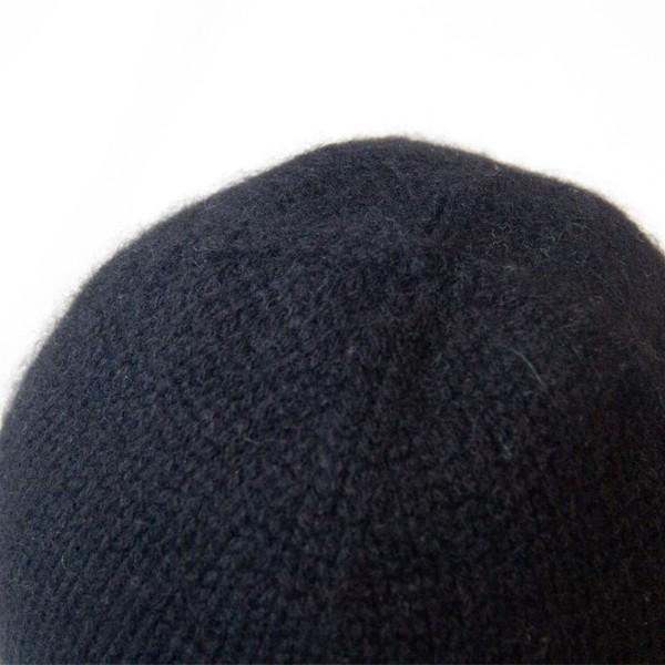 ふんわり極上のカシミヤ100%ニット帽キャップ 男女兼用 カラー:19色 ベーシック中厚タイプ|cus|06
