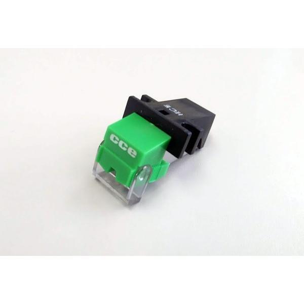 CCEグリーン MMカートリッジ デッドストック 希少品 レコードカートリッジ 国産 日本製 レコード針|customfan
