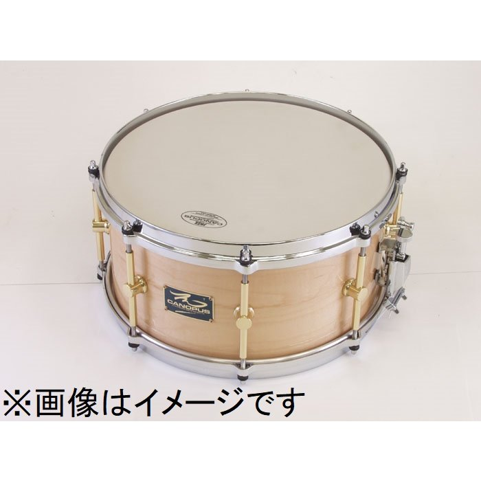 CANOPUS The Maple 6.5x13 Snare Drum Other LQ