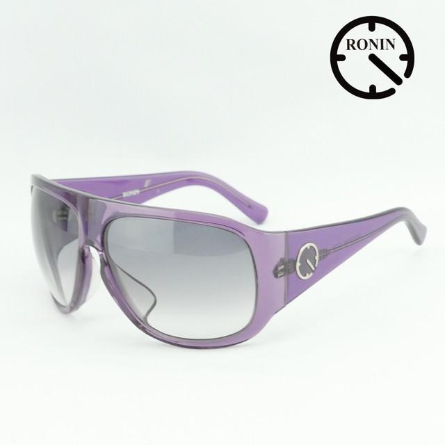 ロニン サングラスRonin Eyewear ロニンアイウェアー UVカット Prototype O.T.W OFF THE WALL Clear 紫の/Gray Gradation Lens