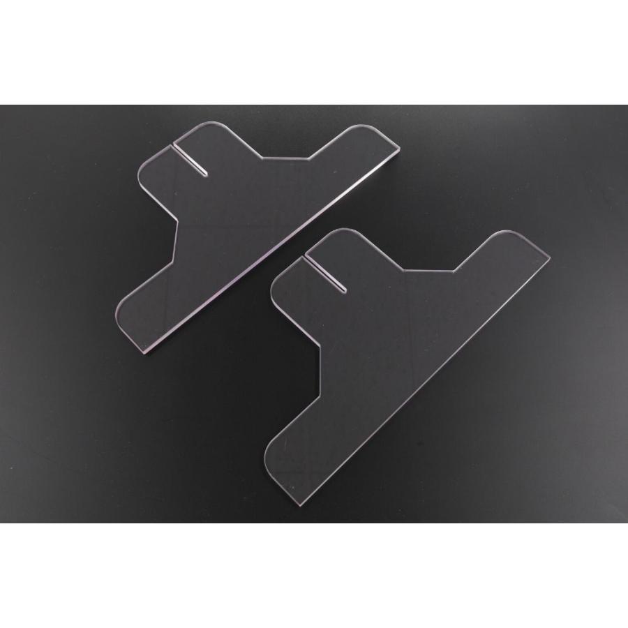 [プラポート公式] 飛沫防止パーテーション Lサイズ H650×W1200 高透明PET樹脂使用 正面タイプ窓なし [日本製]|cutpla|03