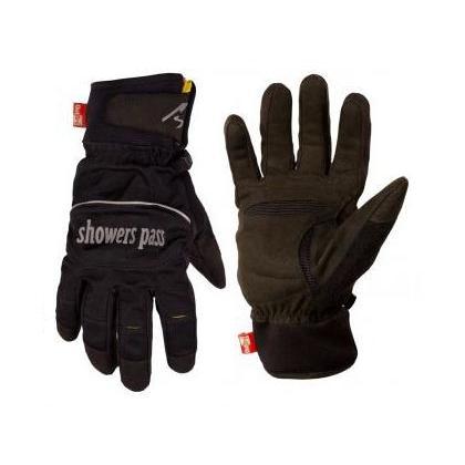 (春の応援セール)シャワーズパス(SHOWERS PASS) クロスポイント ソフトシェル 防水透湿グローブ