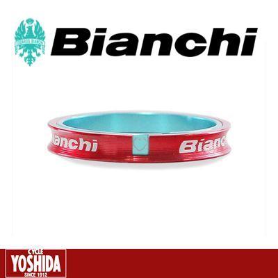 (22日までポイント最大20倍)ビアンキ(BIANCHI) I D アルミ コラムスペーサー5mm(1-1/8)PSPCIDC