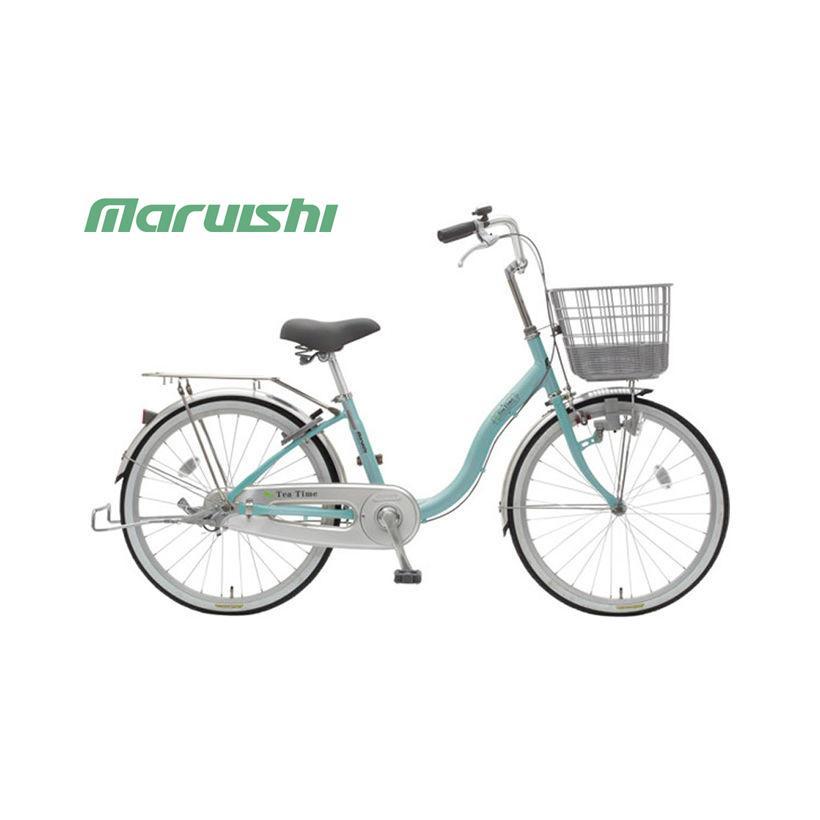 """(店舗受取送料割引)丸石サイクル(MARUISHI) ティータイム ダイナモ 20"""" TT20J ファミリーサイクル"""