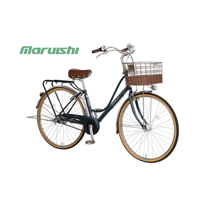 """(店舗受取送料割引)丸石サイクル(MARUISHI) プルミエール ベルト(ステンレスドロヨケ仕様)27"""" PEBP273E ファミリーサイクル"""
