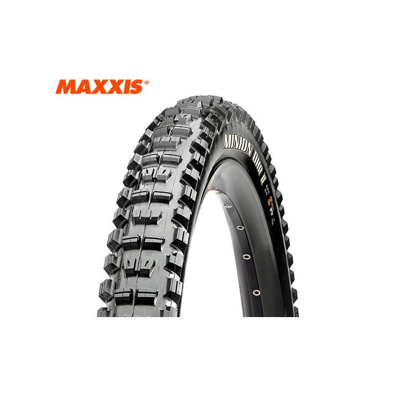 (春の応援セール)MAXXIS(マキシス) MINION(ミニオン)DHR2(WT/3CG/ブチル/TR)リア用チューブレスレディMTBタイヤ 27.5x2.4 フォルダブル