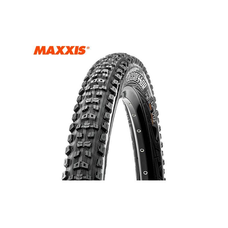 (春の応援セール)MAXXIS(マキシス) AGGRESSOR(アグレッサー)WT/EXO/TR チューブレスレディMTBタイヤ 27.5x2.5 フォルダブル