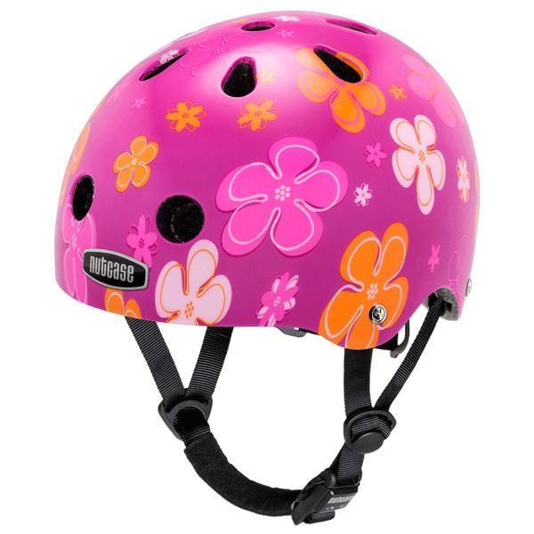 10円募金 ポイント15倍 NUTCASE ナットケース 幼児用自転車 ヘルメット BABYNUTTY ベビーナッティー XXSサイズ Petal Power ペタルパワー