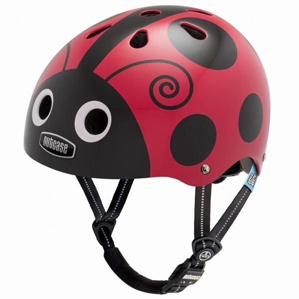 10円募金 ポイント15倍子供用自転車ヘルメット NUTCASE ナットケース 子供用自転車ヘルメット Little Nutty リトルナッティー(XS) Ladybug レディバグ