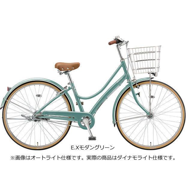 「ブリヂストン」2021 エブリッジL「E70L1」27インチ 変速なし ダイナモライト シティサイクル 自転車