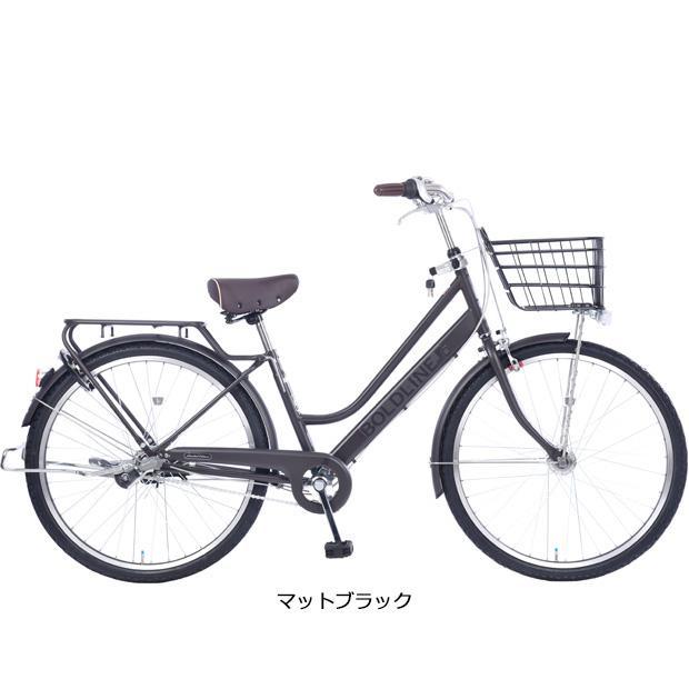「あさひ」ボールドラインリミテッド-L 26インチ 3段変速 オートライト シティサイクル 自転車