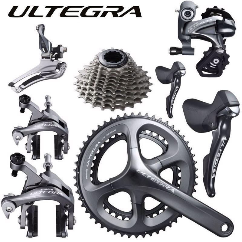 ULTEGRA 6800シリーズ グループセット【クランク:53x39T】【スプロケ:11-25T、11-28T、12-25T】【リア11速】