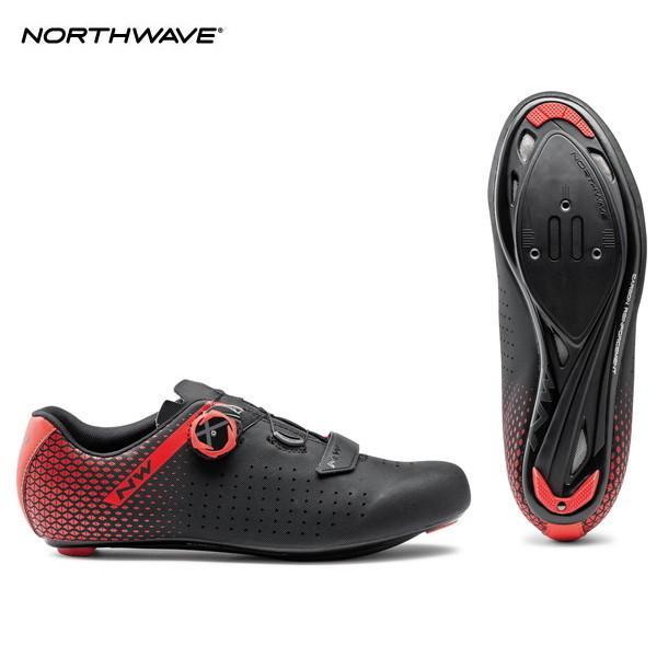 NORTHWAVE/ノースウェーブ CORE PLUS 2 BLACK/RED コアプラス 2 ブラック/レッド ビンディングシューズ cyclick