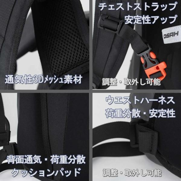 プレミアム 防水(IPX6級)パック DRY PAK バックパック 15L ドライバッグ バイク 自転車 ツーリング アウトドア 送料無料 OSAH/OS-DP5052(メーカー)|cyclingnet|03