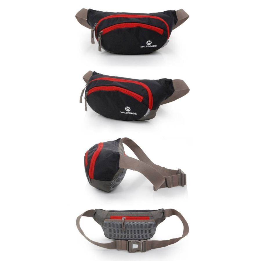 ウエストポーチ Mサイズ 4カラー ランニング ヒップバッグ クロスランナー ボディバッグ 送料無料 MALEROADS/MLS2316-M cyclingnet 04