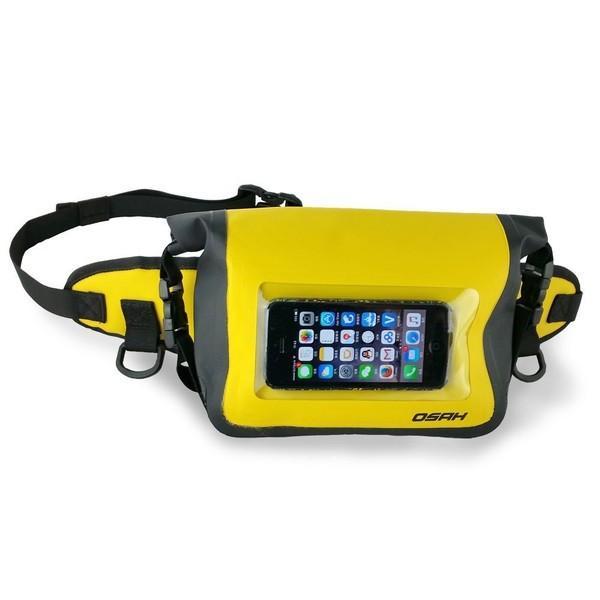 完全防水加工(IPX6)ウエストポーチ 防水ケース スマートフォン外部操作可能 ドライバッグ 送料無料 OSAH//OS-Y1601 cyclingnet