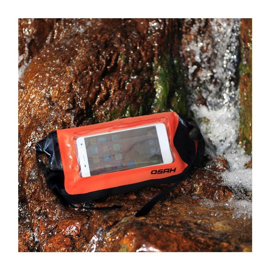 完全防水加工(IPX6)ウエストポーチ 防水ケース スマートフォン外部操作可能 ドライバッグ 送料無料 OSAH//OS-Y1601 cyclingnet 05