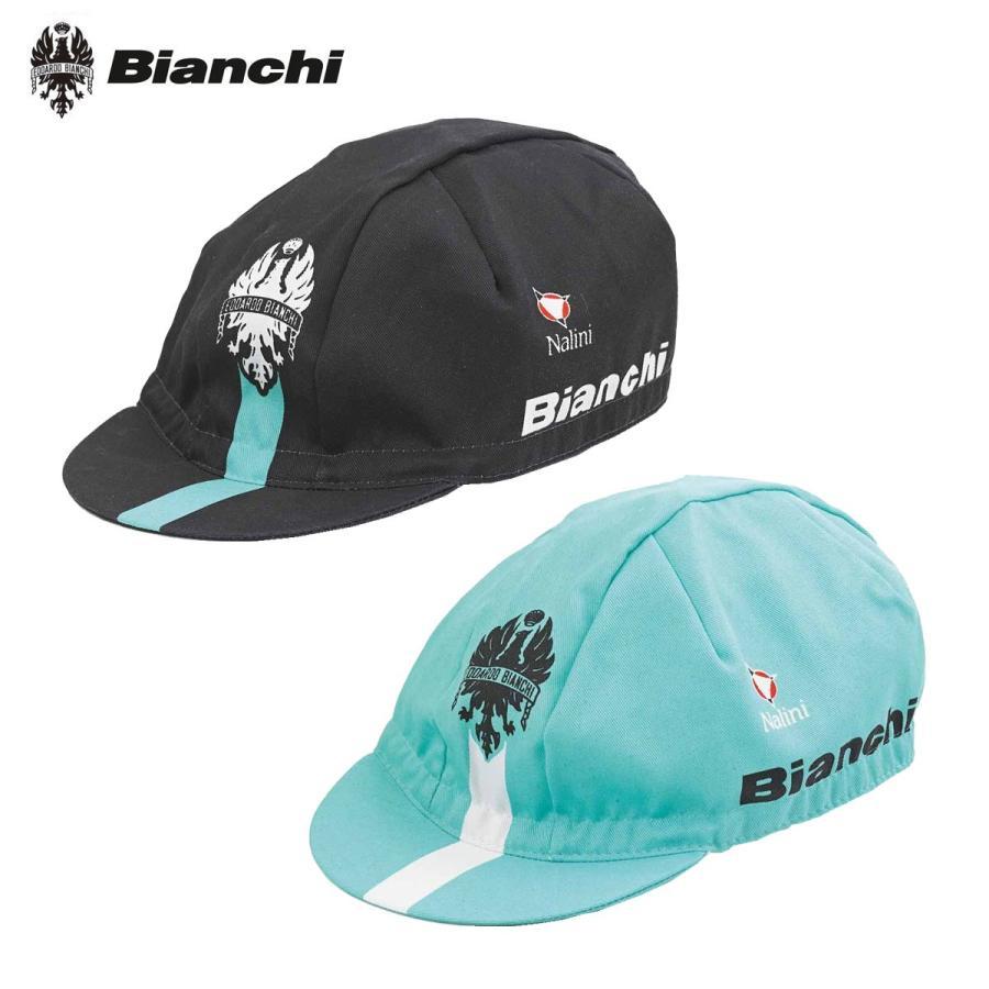 Bianchi 2019 race noire coton Cap par NALINI
