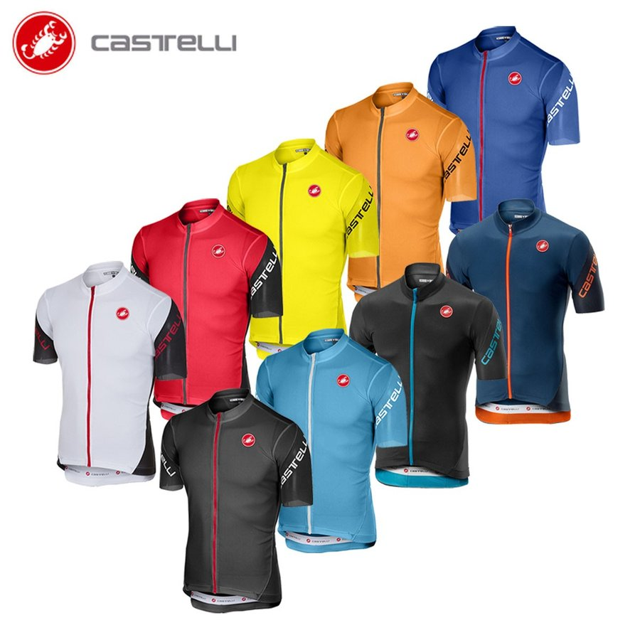 【即納】[8%OFF]CASTELLI カステリ 18010 エントラータ 3 半袖ジャージ/サイクル 自転車|cyclistanet