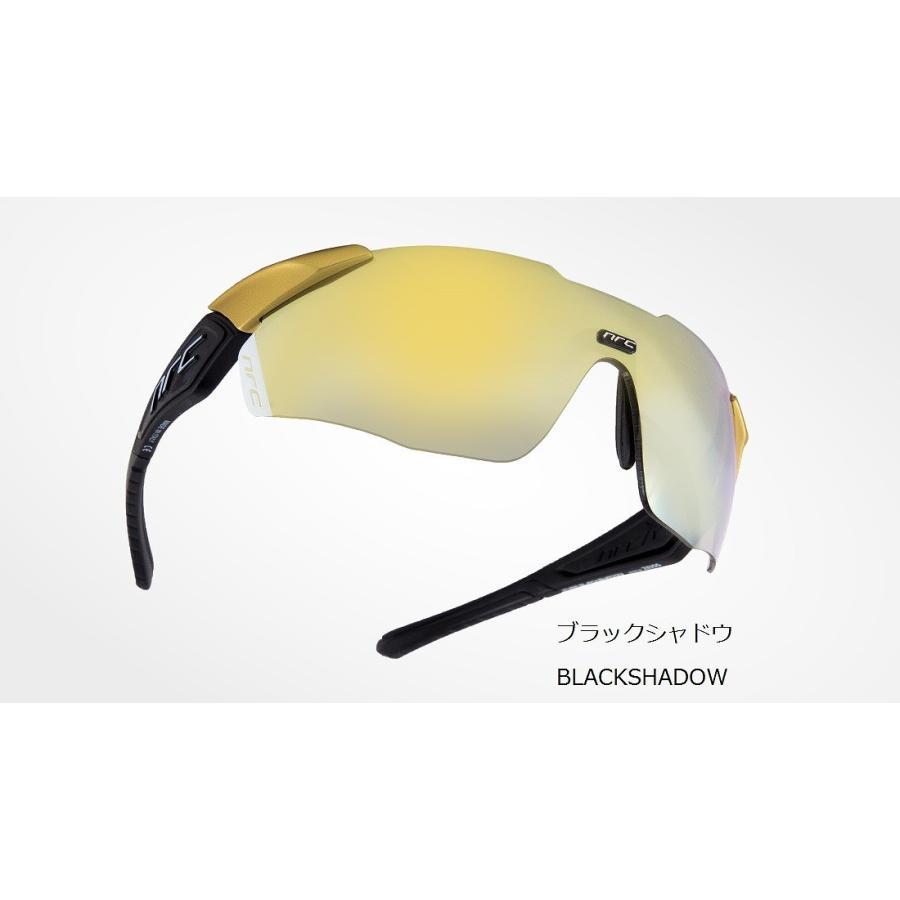 nrc エヌアールシー X1 RR ブラックシャドウ ホワイトライト ゴールドレンズ サングラス 自転車