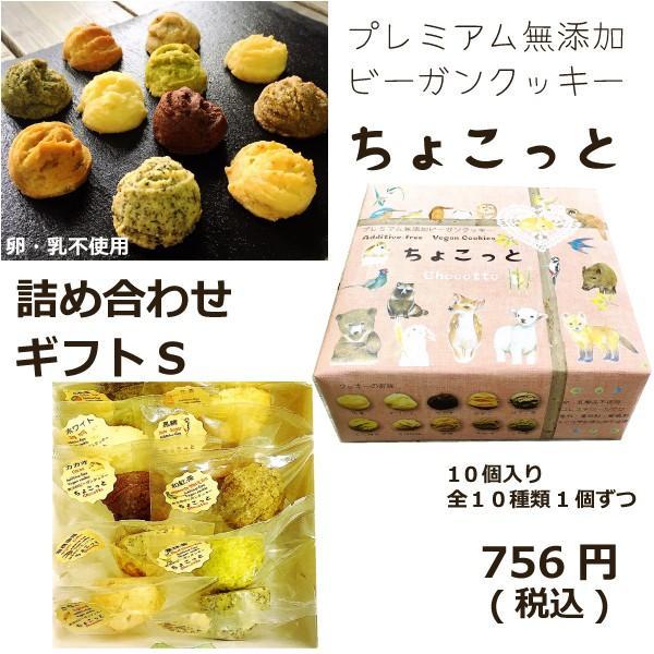プレミアム無添加ビーガンクッキーちょこっとギフトS|cyoimaru