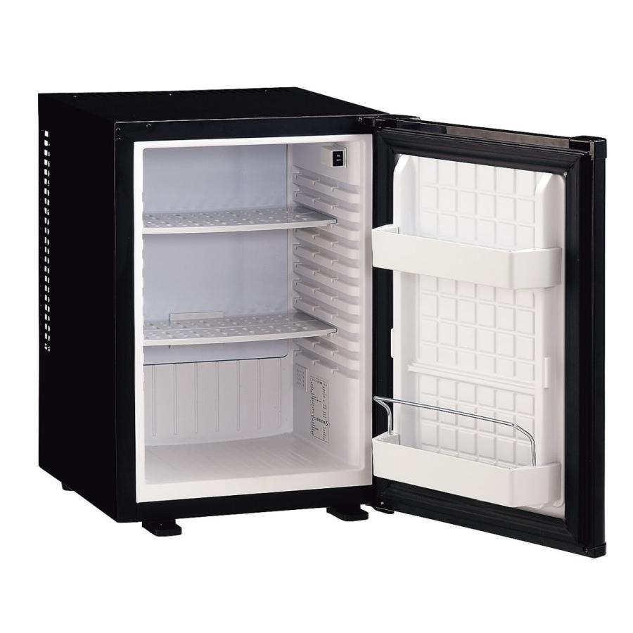 エクセレンス 客室用冷蔵庫(ペルチェ式) ML−640B ブラック 7-0686-0301