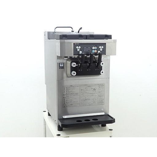 D3484【税込】2018年製 NISSEI/日世 自動殺菌ソフトクリームサーバー CI-7548AE/卓上型ダブル機【営業所止め】