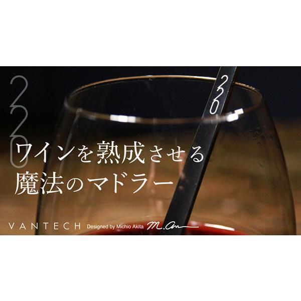 ワインを熟成させる魔法のマドラー 220mm  ヴァンテック ワイン マドラー ステンレス 焼酎 カクテル d-bijin 02