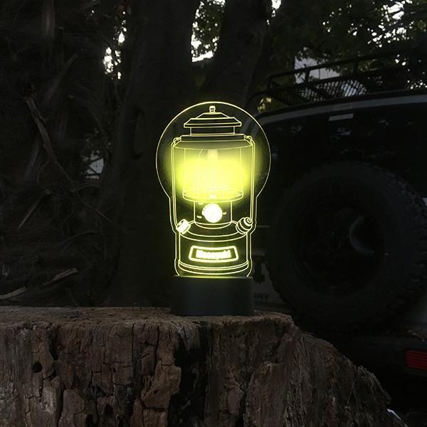 名入れもできる ランタン絵柄 LEDアクリルスタンド 7色 ホワイトデー 2021|d-craft|04