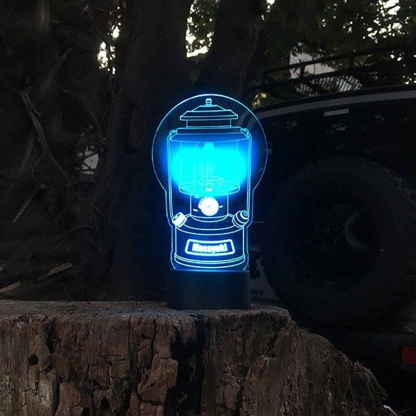 名入れもできる ランタン絵柄 LEDアクリルスタンド 7色 ホワイトデー 2021|d-craft|06