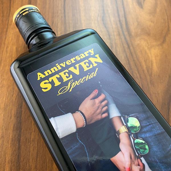 名入れギフト プレゼント クリスマス ウイスキー whisky ブラックニッカ スペシャル 好きな写真で作れる名入れプリントボトル 720ml|d-craft|04