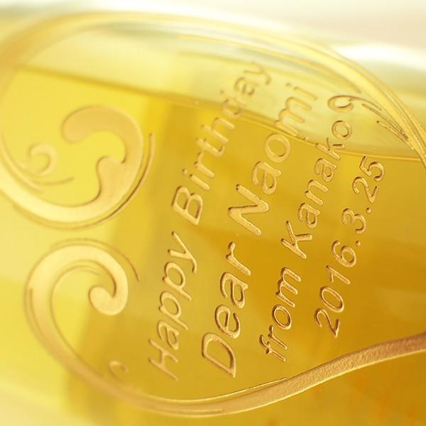 敬老の日 名入れ スパークリングワイン フェリスタス 金箔入り 彫刻ボトル 750ml|d-craft|03