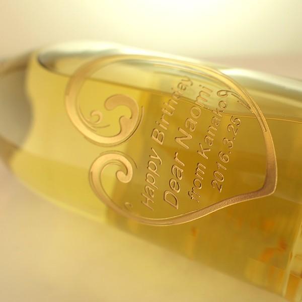 敬老の日 名入れ スパークリングワイン フェリスタス 金箔入り 彫刻ボトル 750ml|d-craft|04